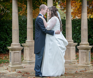 Kirsty & Richard 24th October - Wentbridge House