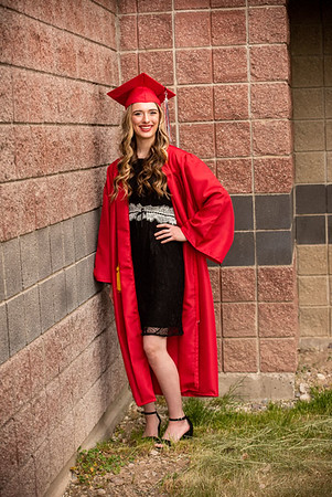 Kenzie Williams cap and gown
