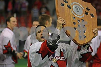 5/28/2011 - Gold Medal Game - Iroquois vs Canada - Eden Arena, Prague, Czech Republic