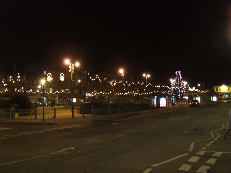 Christmas lights, Johnstone Town Centre.