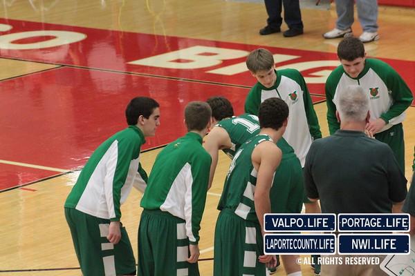 VHS vs PHS Boys Basketball 12-7-12