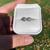 1.70ctw Old European Cut Diamond Clover Stud Earrings, GIA H-I SI 25