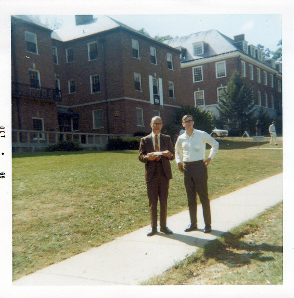 1969 Ken and Doc at K College.jpeg