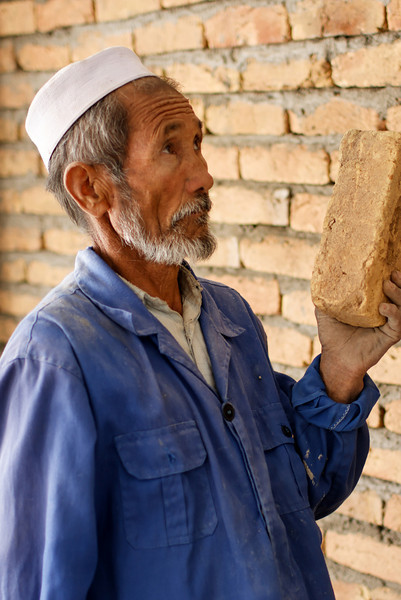 Afghanistan Bricklayers in action
