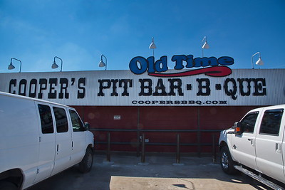 Old Time Cooper's Pit Bar-b-que:  Llano, Texas