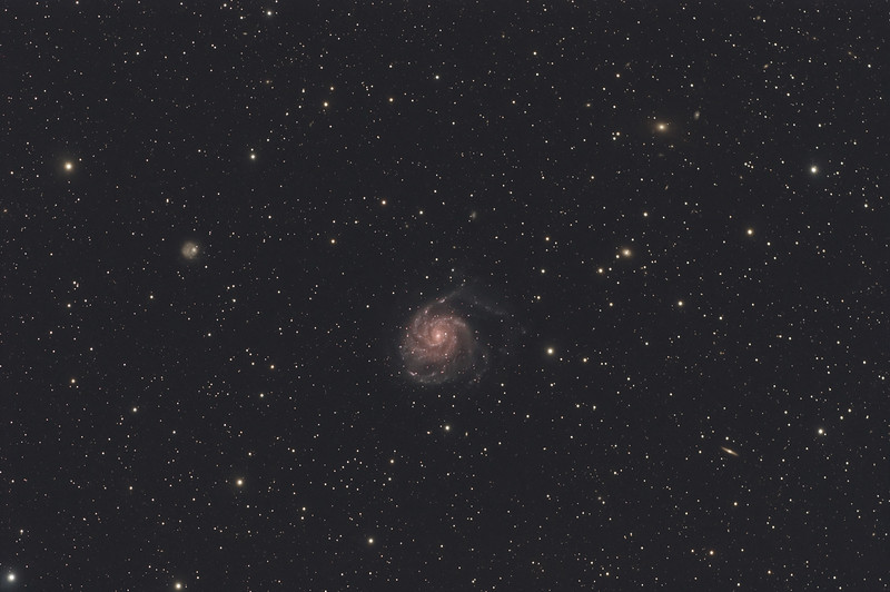 M101, Pinwheel Galaxy