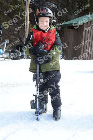 Tiny Tots Ski School 2-15-13