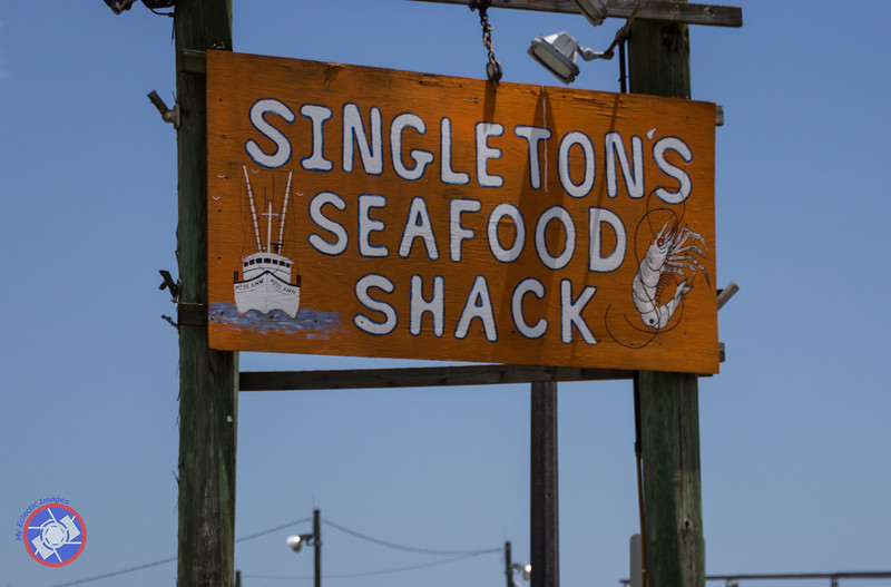 Sign Outside the Restaurant Visible from the Road (©simon@myeclecticimages.com)