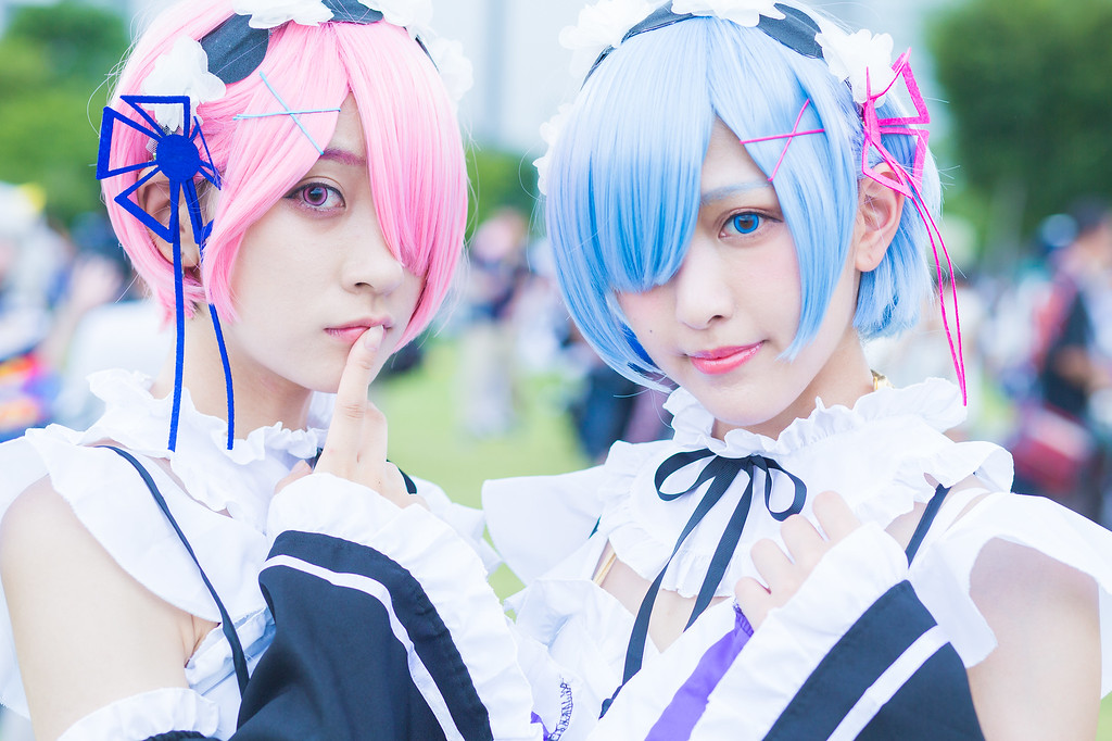 Cosplayers at Comiket.