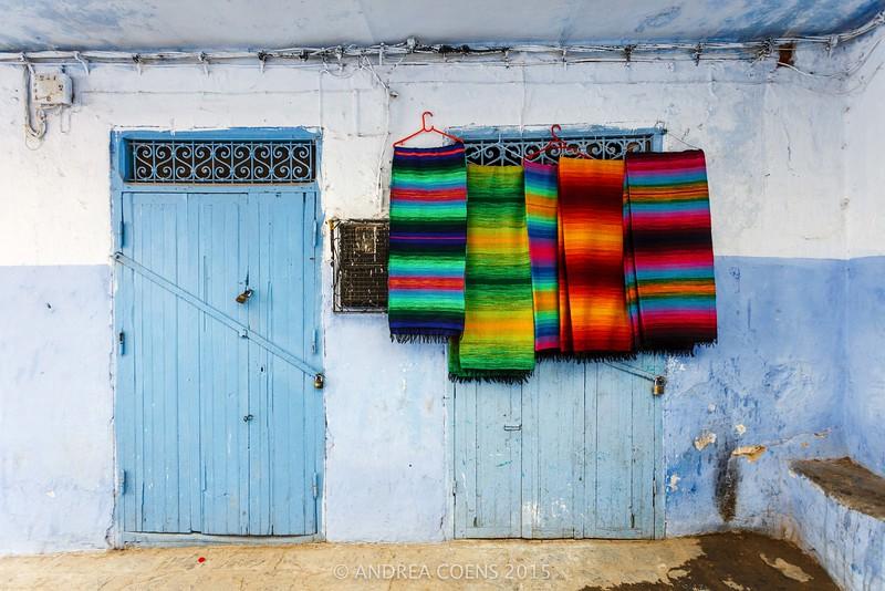 Door and Stripes