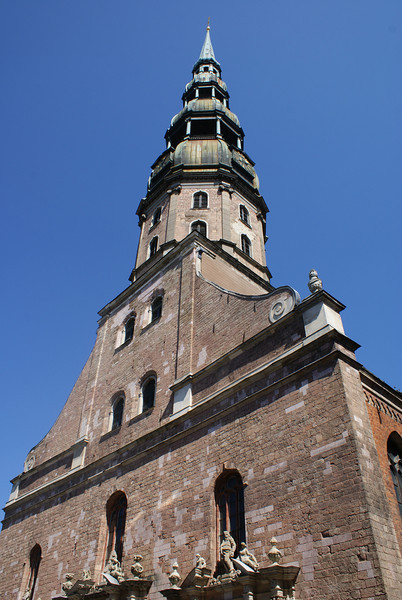 Riga church.