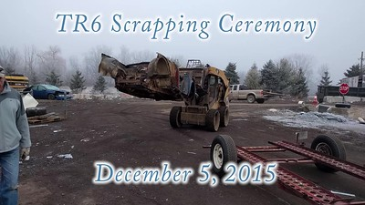 2015-12-05 - Scrapping TR6 Video