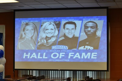 Bethel College Athletic Hall of Fame Banquet - 2017