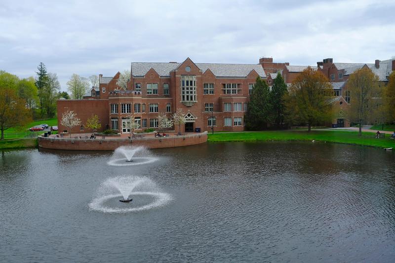 May scenes of Campus