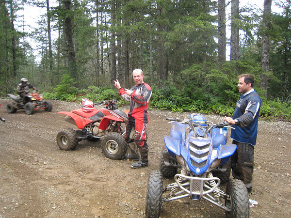 2007_04_07 Dirt Bikes Belfair WA ~ Joe, Mark, Todd