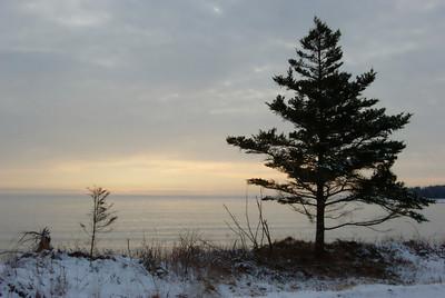 Sunrise - Fisherman's Cove.  Feb. 2008
