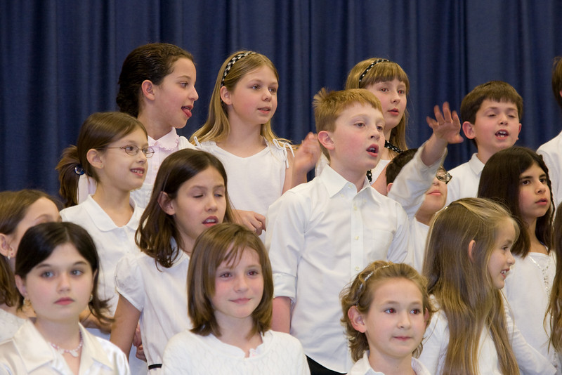 Taylor Elementary School 4th Grade Chorus (28 Feb 2008) (Image taken with Canon EOS 20D at ISO 800, f4.5, 1/60 sec and 70mm)