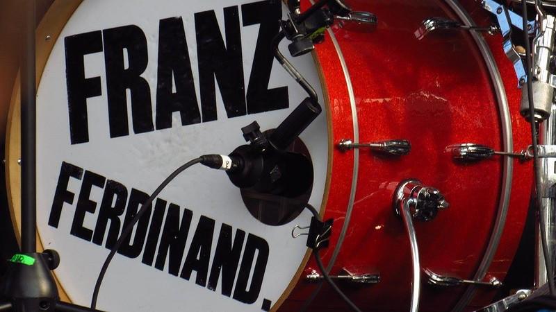 Franz Ferdinand's Bass Drum