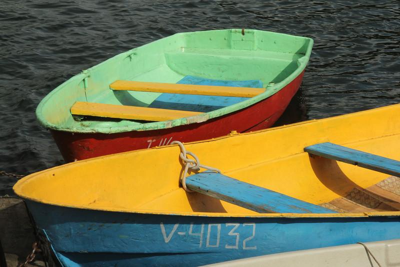 Boats on Lake Galvė -Lithuania