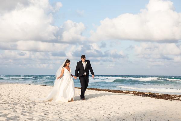 Kate and Jake Cancun Wedding