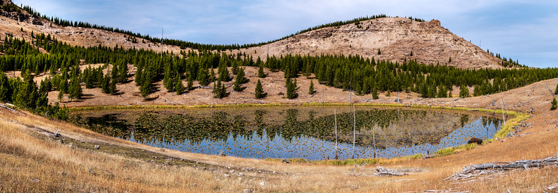 Crater Lakes and Bison