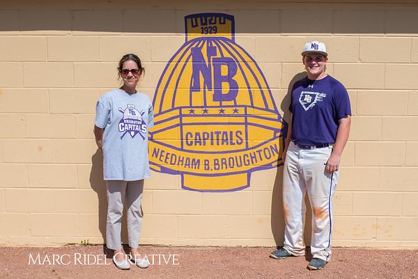 Broughton varsity baseball vs Sanderson. April 24, 2019. 750_0170