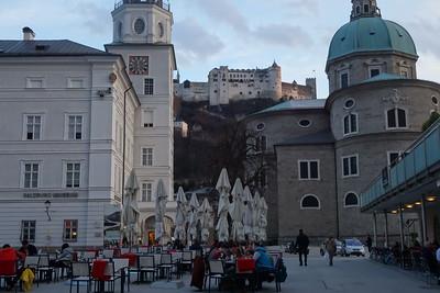 Austria and Budapest
