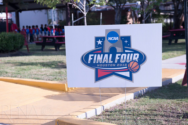 NCAA Final Four : Read to the Final Four