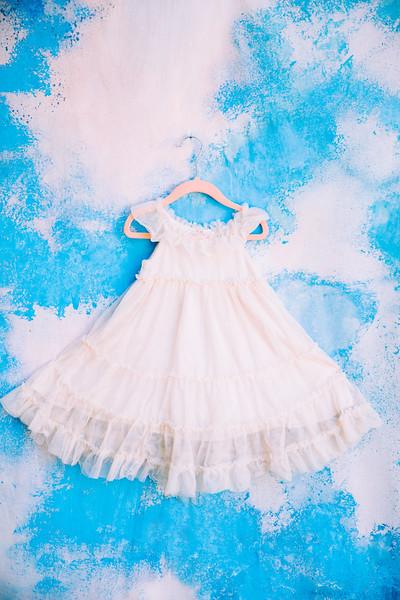 Toddler Ivory Tulle Dress