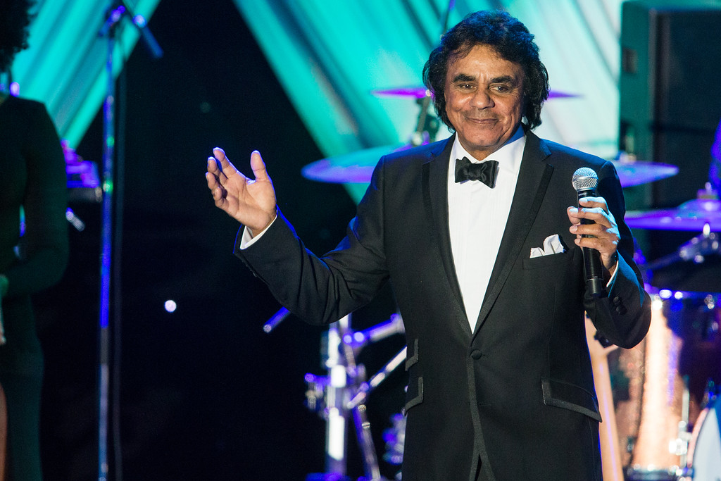 . Johnny Mathis performs at the 2015 Clive Davis Pre-Grammy Gala show at the Beverly Hilton Hotel on Saturday, Feb. 7, 2015, in Beverly Hills, Calif. Mathis performs Nov. 3 at Playhouse Square. For more information, visit www.playhousesquare.org/events/detail/johnny-mathis-the-voice-of-romance-tour-2017. (Photo by Paul A. Hebert/Invision/AP)