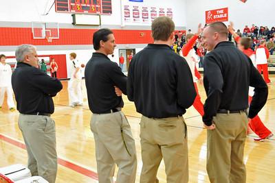 Boys Varsity Basketball at DCG 2009