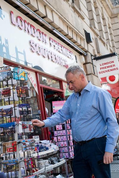 Artur Debski in London, United Kingdom