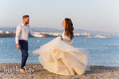 Gemma and Chris - Cafe Del Mar, Puente Romano - Marbella