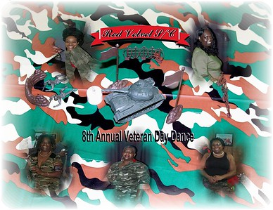 Red Velvet S/C  *8th Annual* Veterans Dance