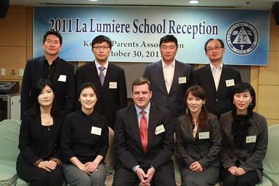 Korean Parents Association reception - November 2011