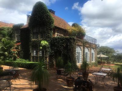 Giraffe Manor Nairobi - October 2018
