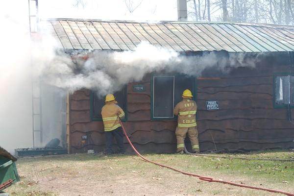 BWFD & HELENA FD...STRUCTURE FIRE MAPLERIDGE RD