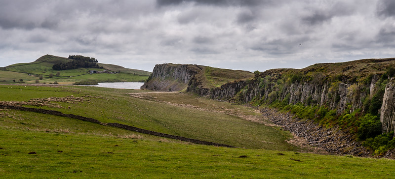 Highshield Crags on Hadrian's Wall