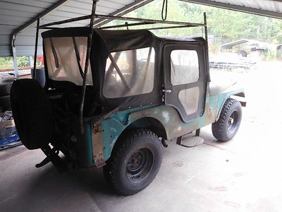Andy Horton 69 Willys Jeep