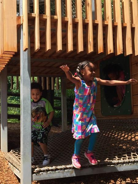 Kids Playing on HDP Playground