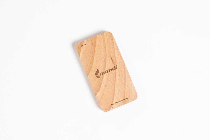 Mondi Wooden Powerbank
