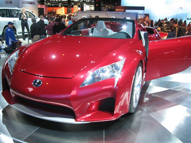 Concept car: Lexus LF-A Roadster