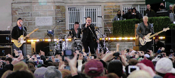 U2 at Fordham University 3/6/09 - Good Morning America