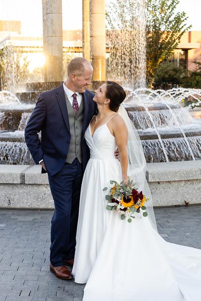Gretchen & Chris | Classic, Elegant Fall Wedding at Chatham Station