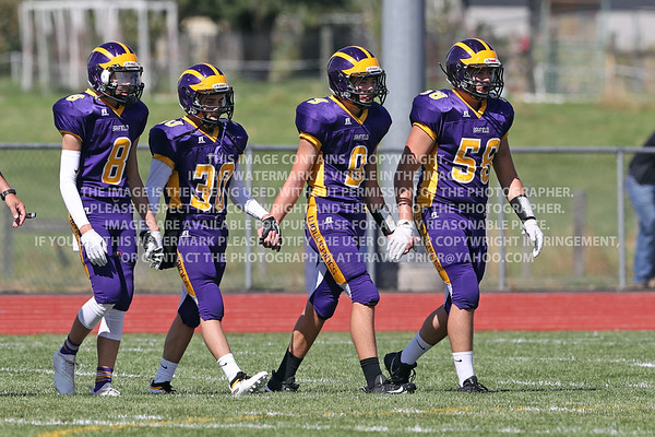 September 1, 2018 Bayfield High School JV Football vs San Juan