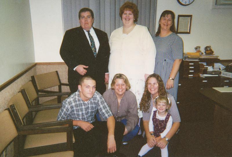 Wedding Picture (Don & Joyce (Sullivan) Davidson, Shari Harris, Bradley Grant, Yolanda Zehring, Sarah Grant, Lydia Harris (11-27-1999.jpg