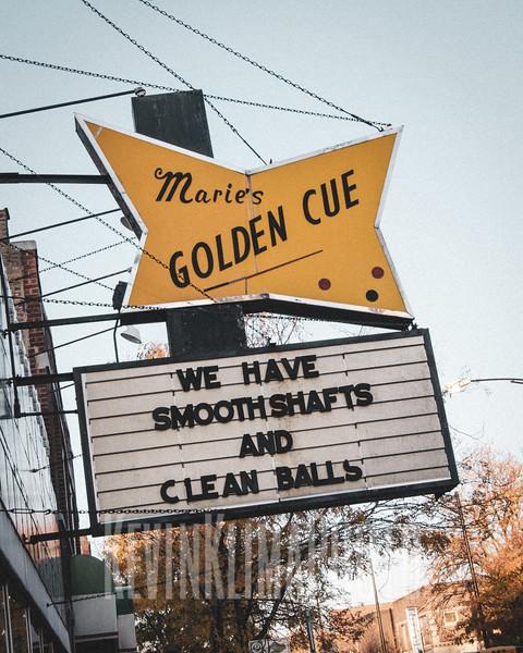Marie's Golden Cue