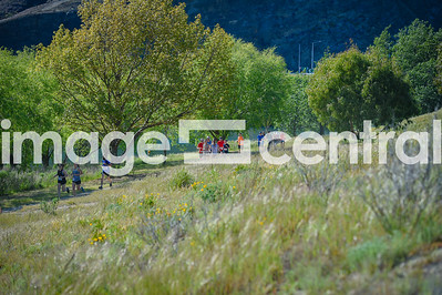 Participant in the Cromwell Half Marathon, 10km & Teams Relay in Cromwell, New Zealand 21 October 2018.  Copyright image:  Clare Toia-Bailey / www.imagecentral.co.nz