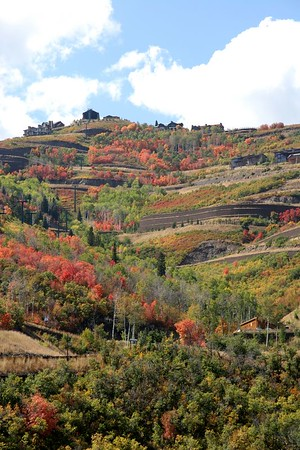 The Wasatch Front In Autumn