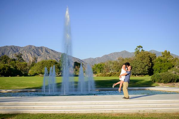 Samuel Rivera Photography, Engagement Session, Elena, Jamel Abidi, LA Arboretum